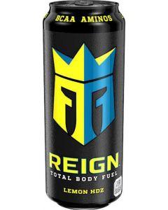 Kolsyrad Energidryck Lemon REIGN, 50cl