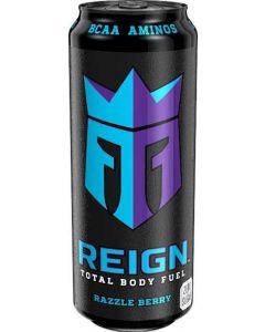 Kolsyrad Energidryck Razzle Berry REIGN, 50cl