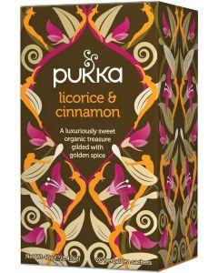 Pukka Te Licorice & Cinnamon 20st.