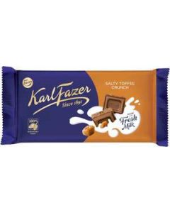 Fazer Salty Toffee Crunch 145g