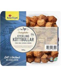 Köttbullar Kyckling KRONFÅGEL, 1000g