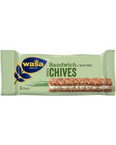 Wasa Sandwich Cheese & Gräslök 37g