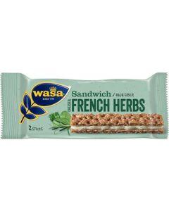 Wasa Sandwich Cheese/French Herbs 30g