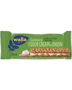 Wasa Sandwich Sourcream/Onion, 33g