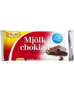 Cloetta Mjölkchoklad Utan Tillsatt Socker 100g