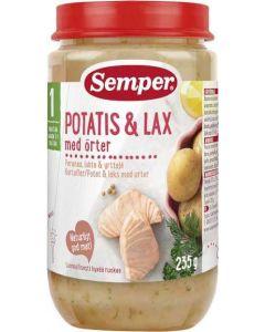 Potatis & Lax Med Örter 1 År SEMPER, 235g