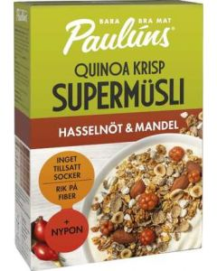 Müsli Hasselnöt/Mandel PAULÚNS, 400g