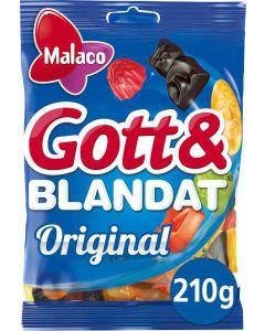 Malaco Gott & Blandat Original 210g