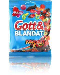 Malaco Gott & Blandat Favoritmix 190g