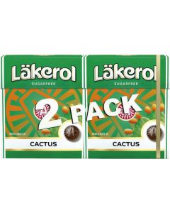 Läkerol Cactus 50g-Doppelpack