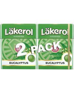 Läkerol Eukalyptus 50g-Doppelpack