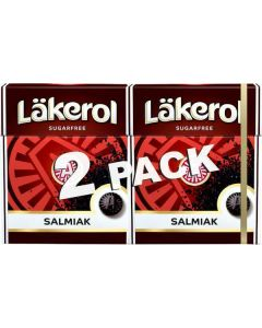Läkerol Salmiak 50g-Doppelpack