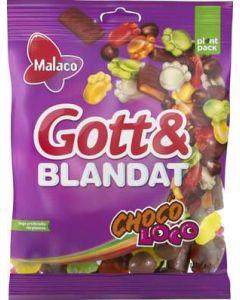 Malaco Gott & Blandat Choco, 130g
