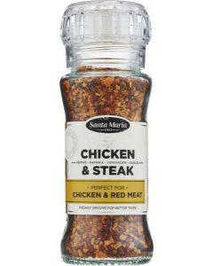 Santa Maria Chicken & Steak 75g