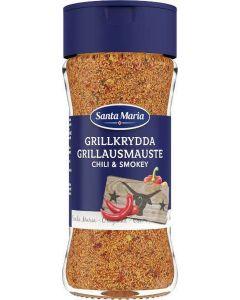Santa Maria Grillkrydda Spice Chili & Smokey 81g