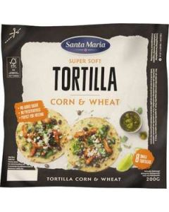 Tortilla Corn Wheat Small SANTA MARIA, 200g