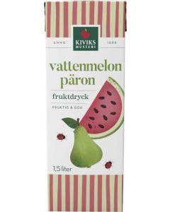 Vattenmelon & Pärondryck KIVIKS MUSTERI, 1,5l
