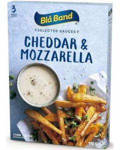 Cheddar & Mozzarellasås BLÅ BAND, 3x3dl
