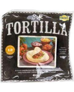 Tortilla Soft FAVORIT, 480g