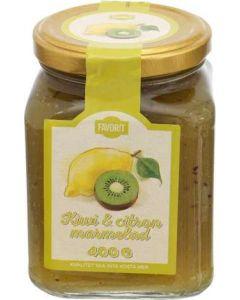 Favorit Kiwi & Citronmarmelad 400g