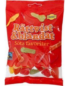 Favorit Rättvist & Blandat Sötafavoriter 180g Fair-trade