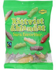 Rättvist Sura Favoriter 180g Fair Trade