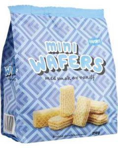 Mini Wafers Vanilj Favorit, 250g