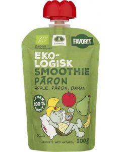 Smoothie Äpple/Päron/Banan EKO FAVORIT, 100g