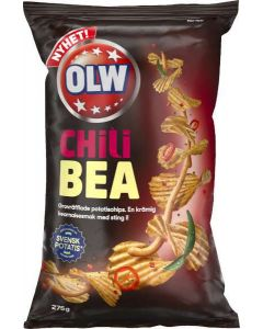 OLW Chips Chili Bea 275g