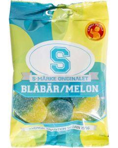 S-Märke Blåbär & Melon 80g