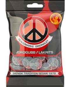 Peacemärke Jordgubb/Lakrits 80g