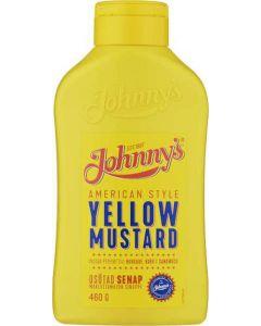 Johnnys Yellow Mustard  460g