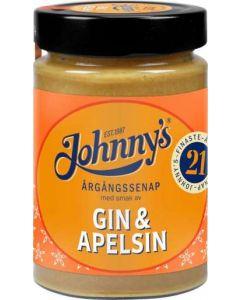 Johnny's Senap Gin/Apelsin, 315g