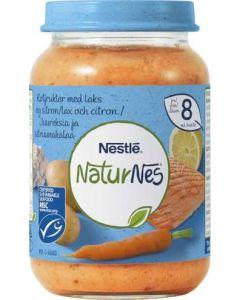 Rotfrukter Med Lax & Citron 8 Mån NATURNES, 190g