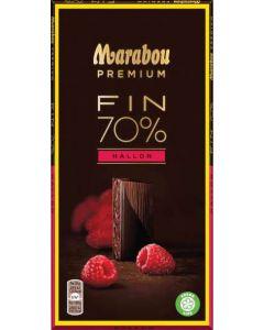 Marabou Premium Dark Raspberry 100g