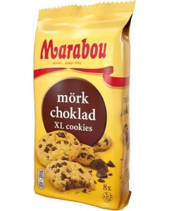 Marabou Mörk Choklad Cookies 184g