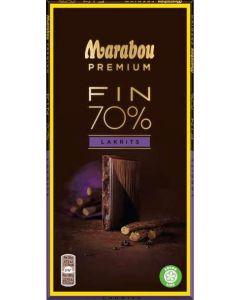 Marabou Premium Salty Liqourice 100g