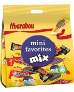 Marabou Mini Mix Favorites 188g