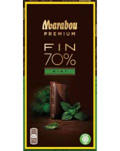 Marabou Premium Dark Mint 100g