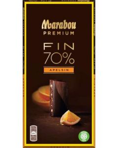 Marabou Premium Dark Orange 100g