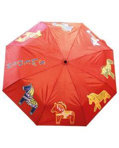 Regenschirm Dalapferd