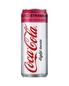 Coca Cola Zero Twisted Strawberry 33cl