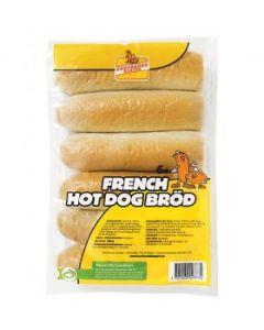 Fransk Hot Dog Bröd 360g