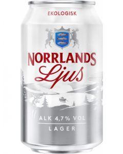 Norrlands Ljus Ekologisk 24x0,33l 4,7%