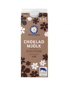 Chokladmjölk 1,5% 1,5l Skånemejerier