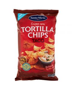 Tortilla Chips Taco 185g Santa Maria