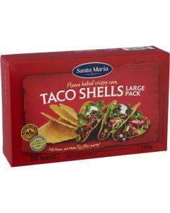 Taco shells 20-p 225g Santa Maria