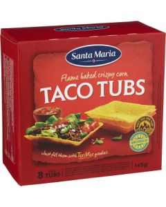Mini taco tubs 120g Santa Maria