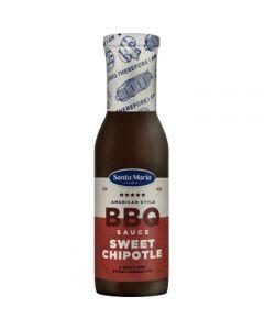 Santa Maria American BBQ Sauce Sweet Chipotle 335g