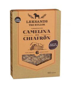 Tunnknäcke Camelina och Chiafrön 180g Leksands Tre Kullor
